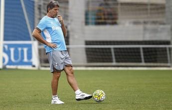 Conversas de Renato com o grupo marcam treino do Grêmio no sábado