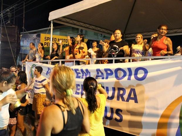 Evento conta anualmente com a presença de mais de 10 mil foliões (Foto: Tiago Melo/G1 AM)