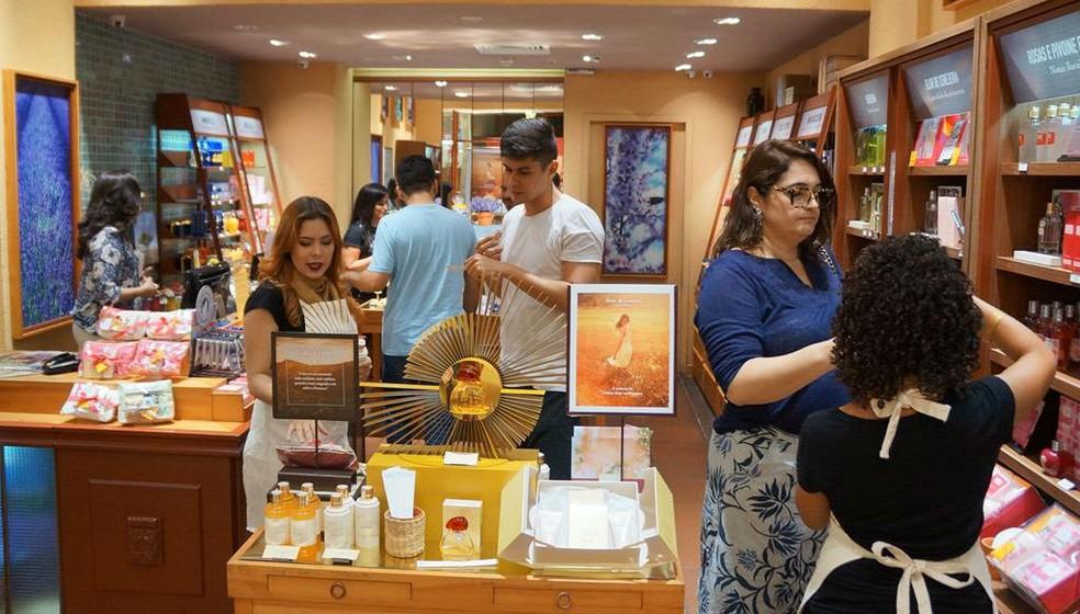 No ranking de escolhas, perfumes e cosméticos vêm em primeiro lugar (28,2%) (Foto: Divulgação)