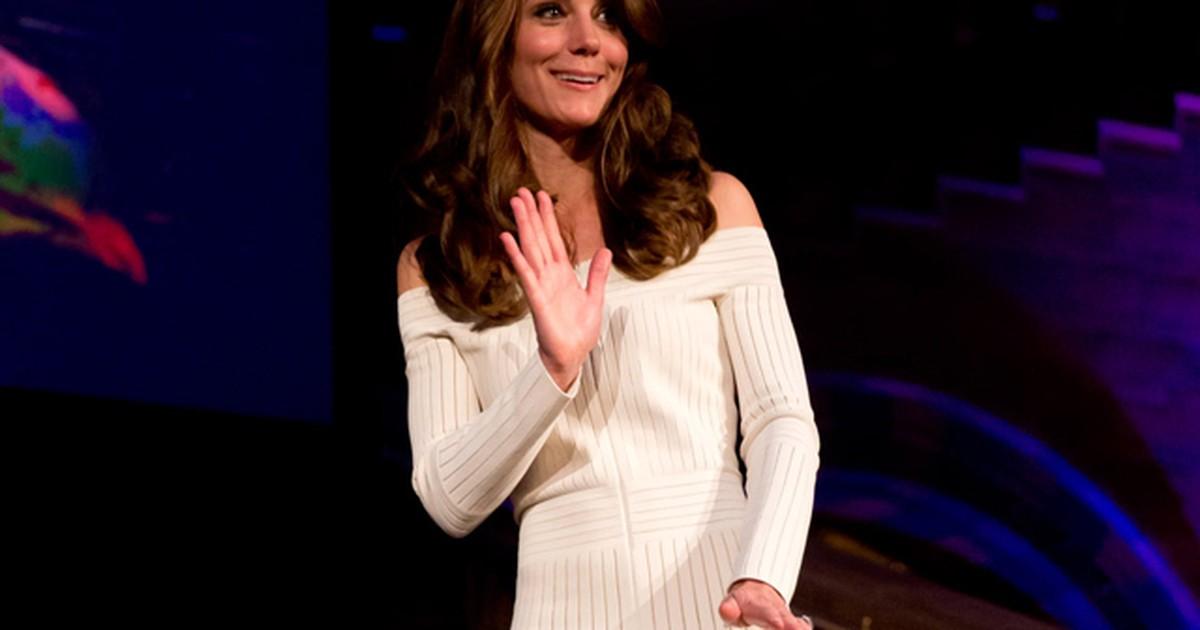 59d4e37a7 G1 - 'Honra', diz estilista brasileira que teve vestido usado por Kate  Middleton - notícias em Rio Grande do Sul