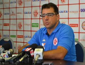 Marcelo Martelotte - técnico do América-RN (Foto: Jocaff Souza/GloboEsporte.com)