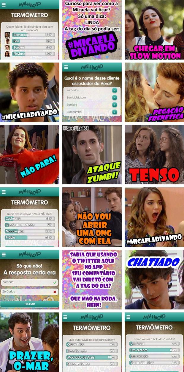 crônica aplicatico capítulo 52 (Foto: Malhação / TV Globo)