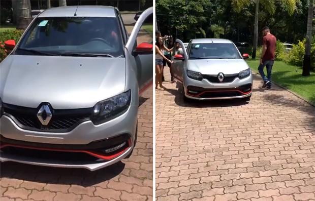 Anitta dá carro para funcionário da equipe (Foto: Reprodução/Instagram)