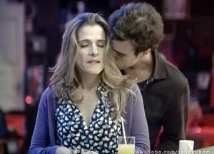 Lucindo pede Tina em namoro! (Foto: Sangue Bom/TV Globo)