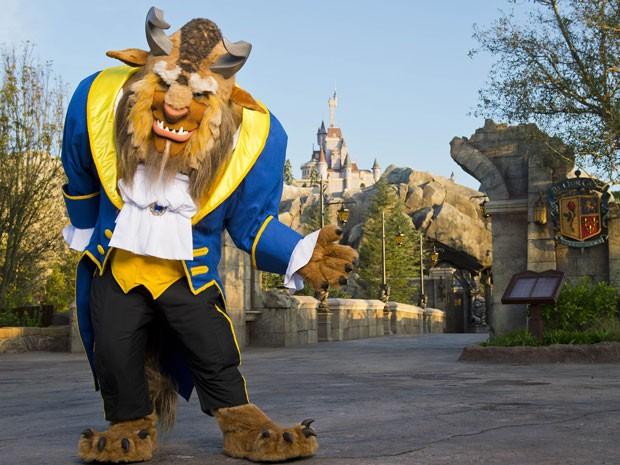 Castelo da Fera, nova atração do Magic Kingdom, na Disney (Foto: Divulgação/Disney)