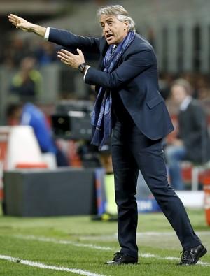 Roberto Mancini, técnico Inter de Milão (Foto: Reuters/Alessandro Garofalo)