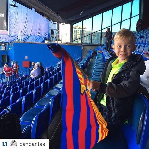 Davi lucca, filho de Neymar  (Foto: Instagram / Reprodução)