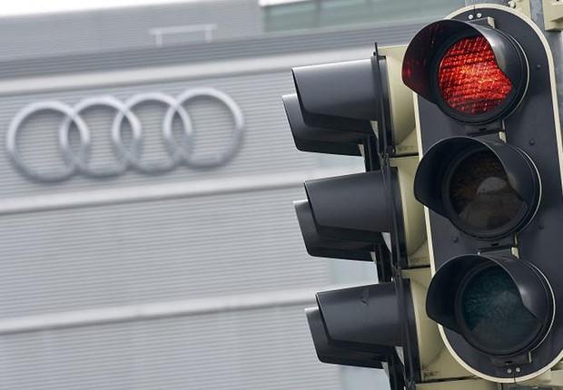 Escritórios da Audi na Alemanha (Foto: Lukas Barth/Reuters)