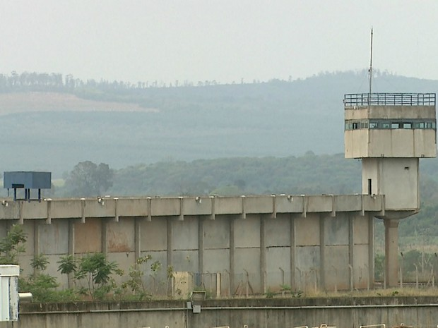Penitenciária II de Serra Azul abriga presos condenados por estupro (Foto: Reprodução/EPTV)