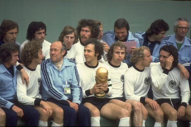 Seleção da Alemanha 1974 (Foto: Getty Images)