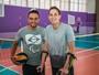 """Follmann visita CT Paralímpico e joga vôlei sentado: """"Inesquecível"""""""
