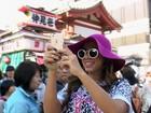 Anitta celebra turnê pelo Japão e mostra bastidores: 'Tirei muita foto'