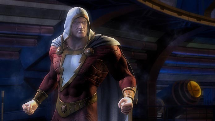 Shazam é um dos heróis que tem roupas exclusivas desbloqueadas pelo modo (Foto: Reprodução/Murilo Molina)