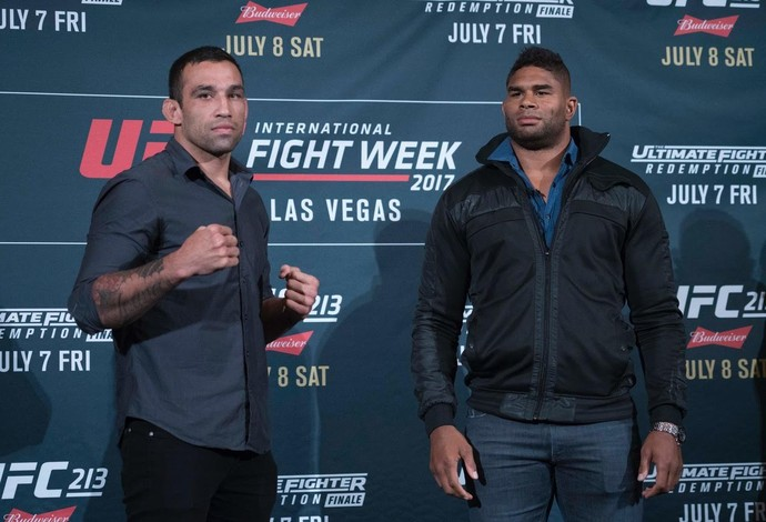 Fabricio Werdum x Alistair Overeem (Foto: Evelyn Rodrigues)