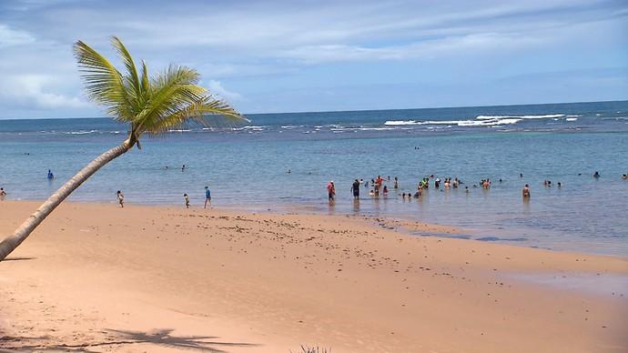 Península de Maraú é conhecida como 'Caribe baiano' (Foto: TV Bahia)