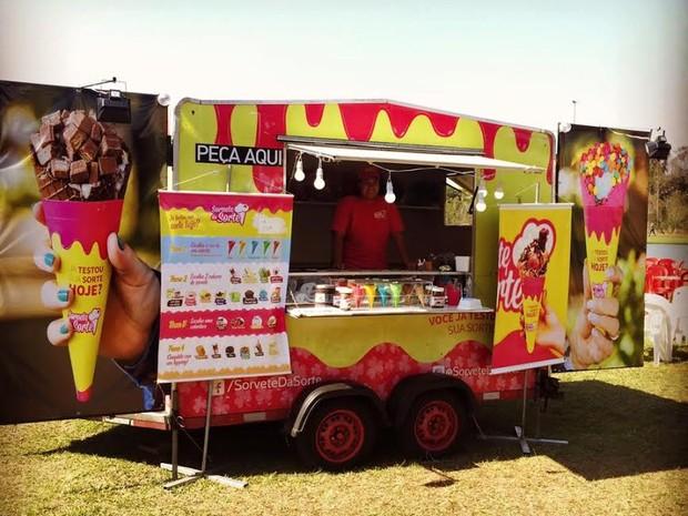 Food Truck Sorvete da Sorte (Foto: Cristian Schulter)