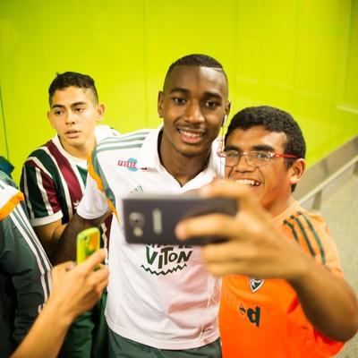Gerson Fluminense Brasília (Foto: Bruno Haddad / Fluminense)