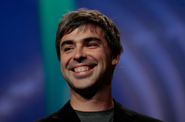 O executivo Larry Page (Foto: Getty Images)