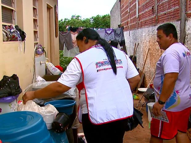 Trabiju, SP, entra em estado de alerta e intensifica ações de combate à dengue (Foto: Reprodução EPTV)