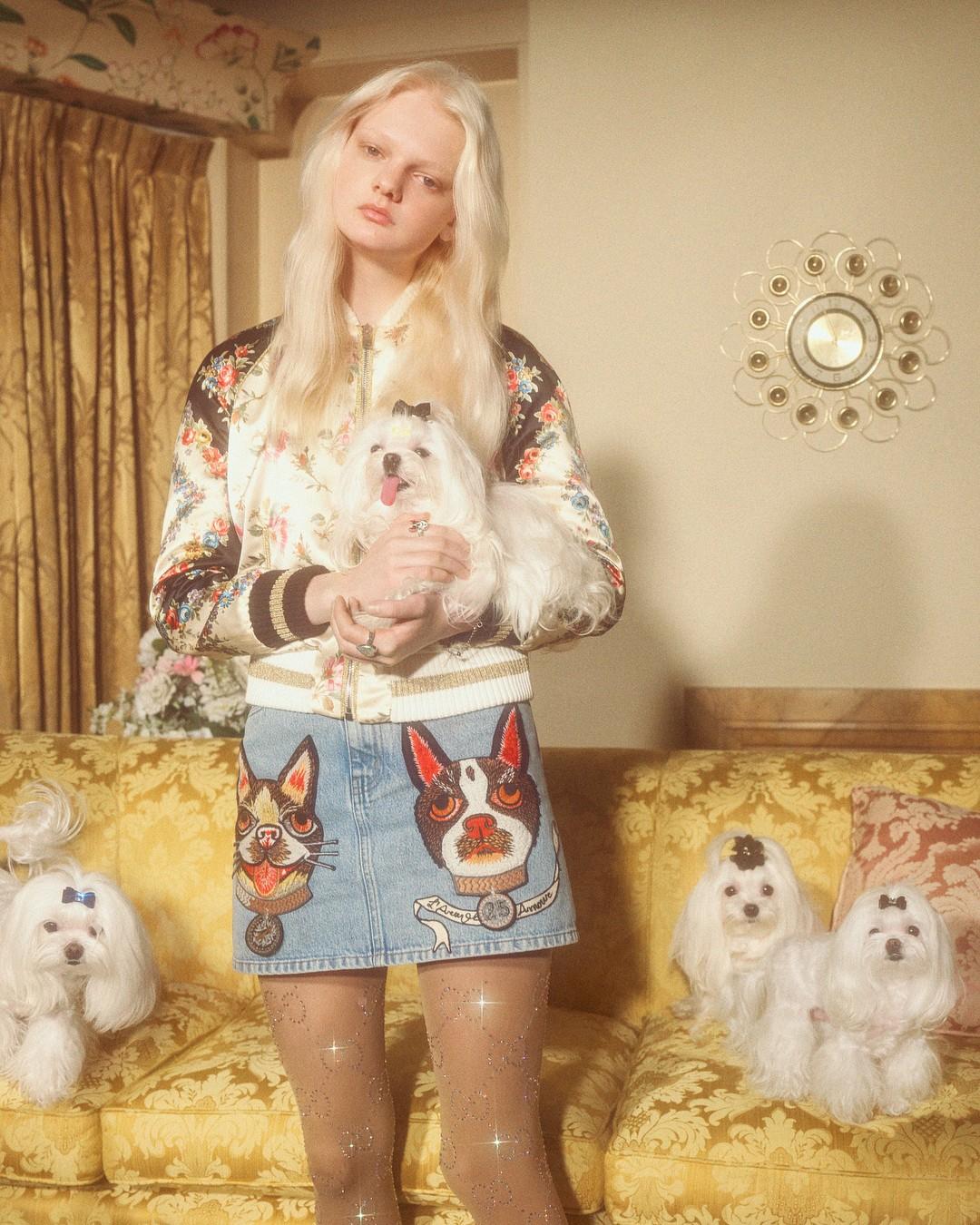 116a6705b8dda Ano Novo Chinês  Gucci lança coleção inspirada no ano do cachorro (Foto   Divulgação