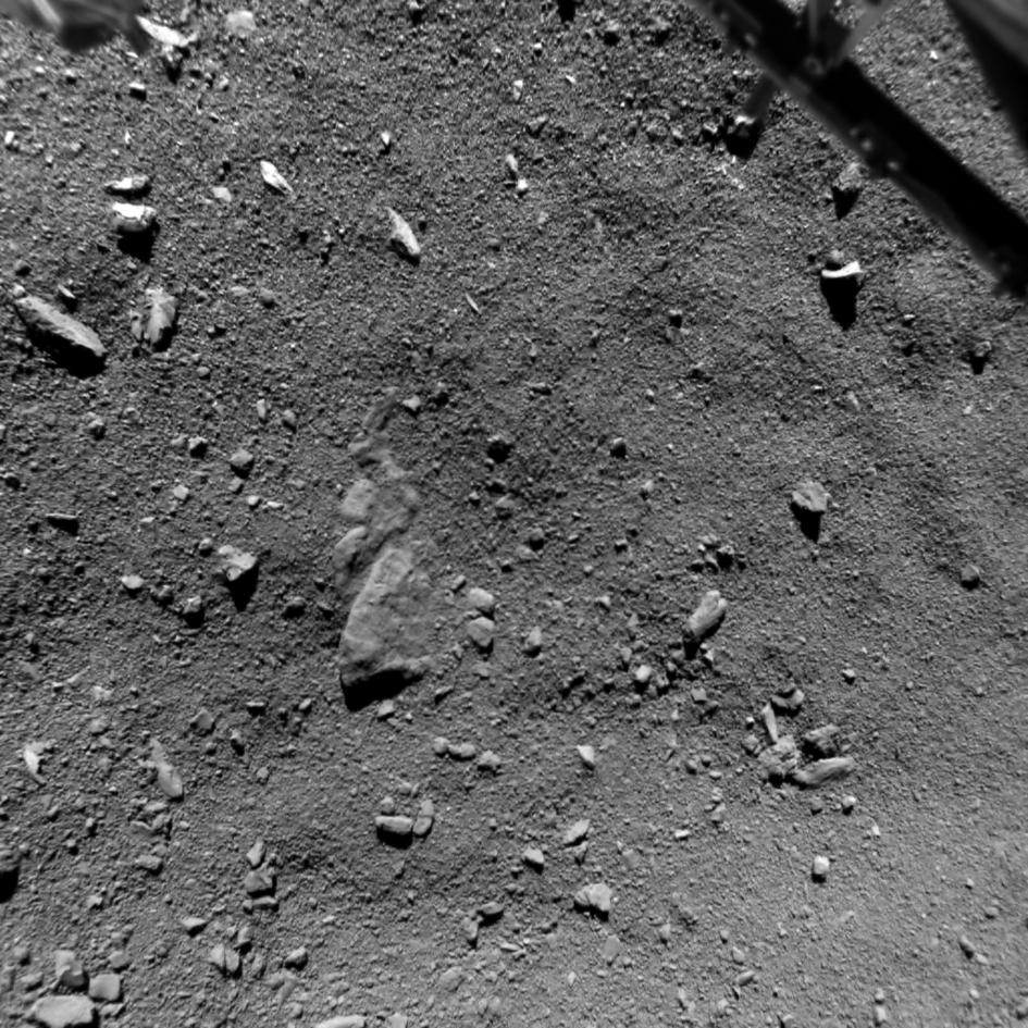 cometa a 9 metros de distância (Foto: reprodução - esa)