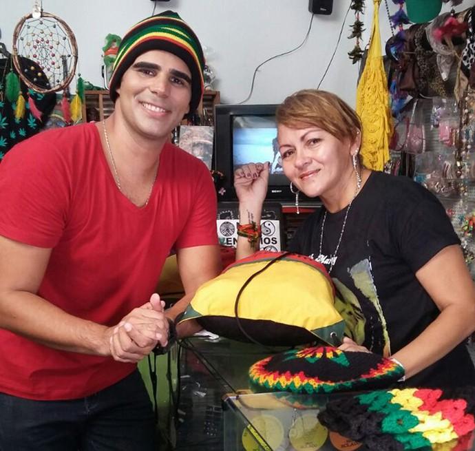 'Programão' mostra o estilo de se vestir, de viver e a filosofia do reggae (Foto: Gshow/Rede Clube)