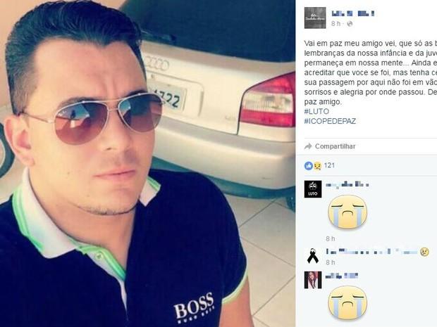 Estudante foi morto a tiros em Icó (Foto: Reprodução Facebook)