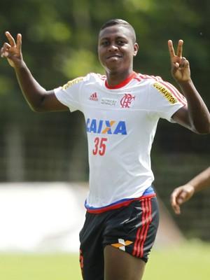 Samir, Kayke e Jajá - Flamengo (Foto: Gilvan de Souza / Flamengo)