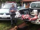 Policiais multam dois suspeitos de crime ambiental em Itapura, SP