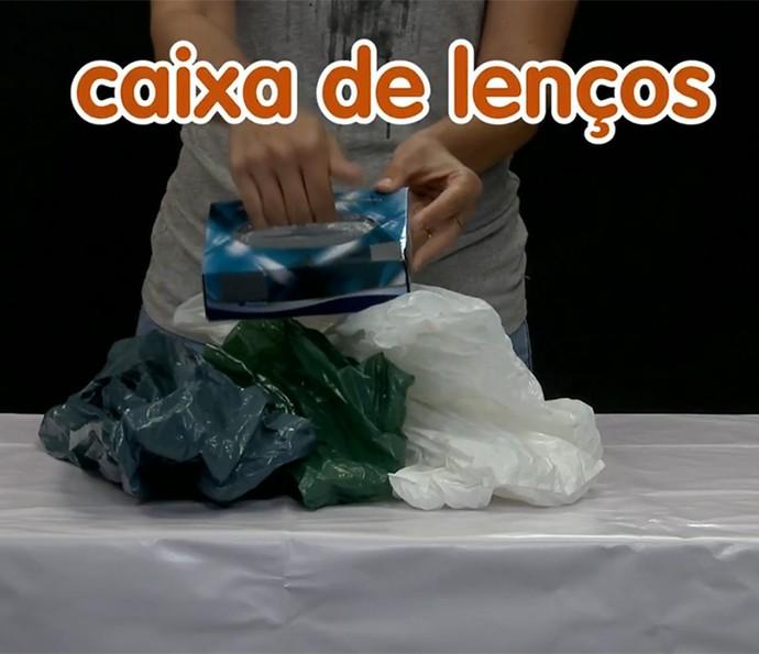 Consiga uma caixa de lenços vazia (Foto: Divulgação)