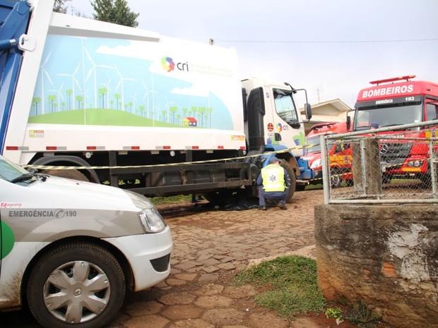 Atropelamento ocorreu na manhã desta terça-feira (12) (Foto: Jhonatan Coppini/Oeste Mais)
