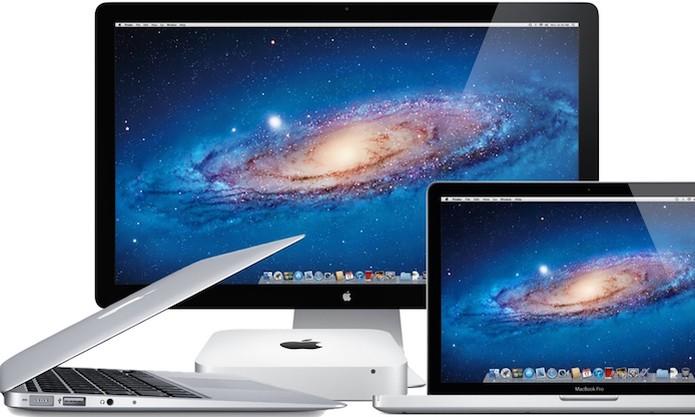 Diferentes modelos de MAC (Foto: Divulgação/Apple) (Foto: Diferentes modelos de MAC (Foto: Divulgação/Apple))