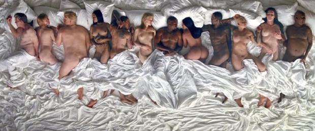 Clipe de 'Famous', de Kanye West (Foto: Reprodução)