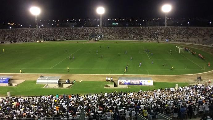 Botafogo-PB, Fortaleza (Foto: Edgley Lemos / GloboEsporte.com)