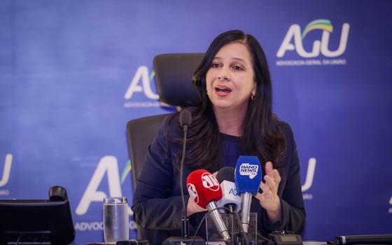 Ministra Grace Mendonça, da AGU (Foto: AGU)