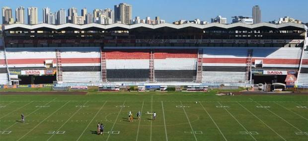 Estádio Santa Cruz Futebol Americano (Foto: Rafael Martinez / Assessoria BFC)