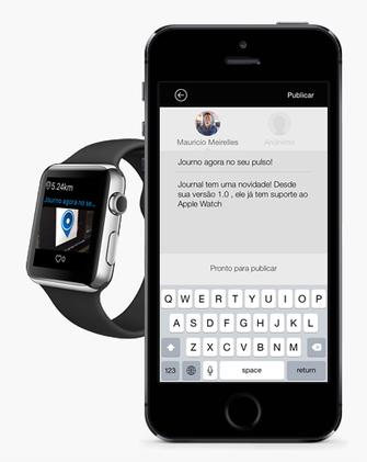 Journo chega na App Store com suporte ao Apple Watch (Foto: Divulgação/Journo)