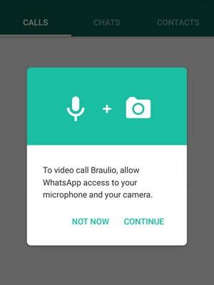 WhatsApp ganha chamadas de vídeo no Android. (Foto: Reprodução/WhatsApp)
