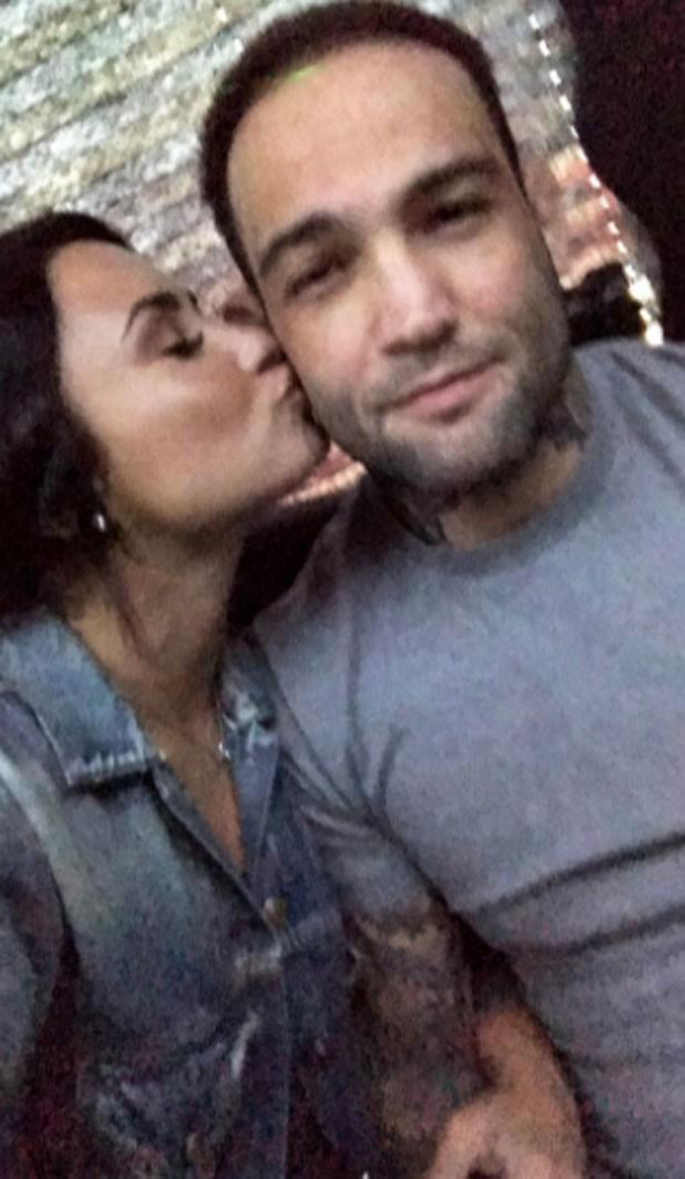 Demi Lovato e Guilherme Vasconcelos (Foto: Reprodução)