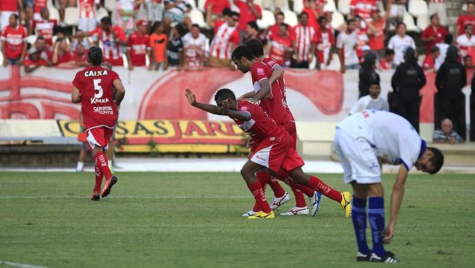 CRB x Águia, em Maceió (Foto: Ailton Cruz/ Gazeta de Alagoas)
