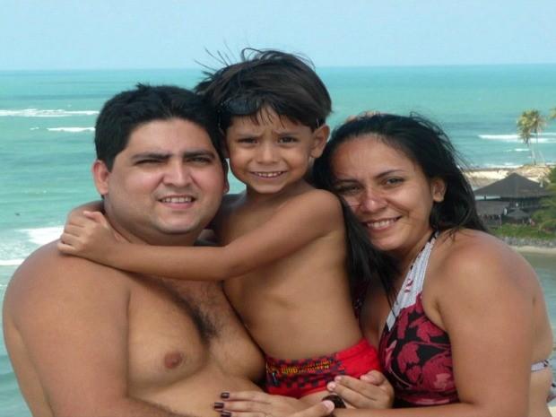Família do Amazonas desapareceu durante viagem a Roraima (Foto: Reprodução/TV Amazonas)