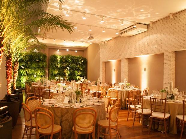 Casamentos em restaurante: Cantaloup (Foto: Gisele Rampazzo / Divulgação)