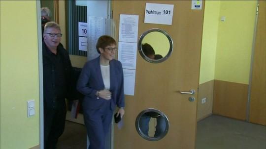Partido de Merkel vence eleições regionais no estado de Sarre