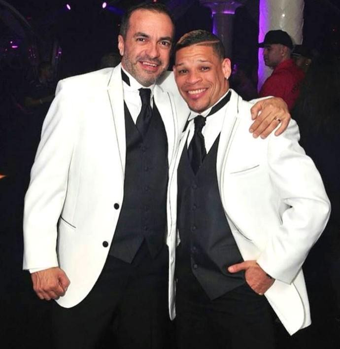 Orlando Cruz boxeadro gay casamento (Foto: Divulgação / Facebook Oficial)