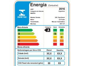 Selo mostra eficiência energética de carros (Foto: Divulgação)