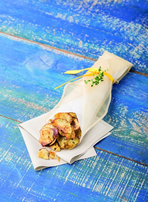 Chips de batata doce (Foto: Divulgação/Cesar Godoy)