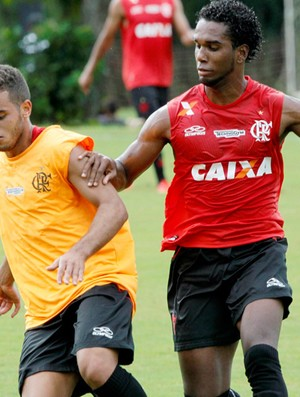 Luiz Antonio rodolfo flamengo treino (Foto: Cezar Loureiro / Agência O Globo)