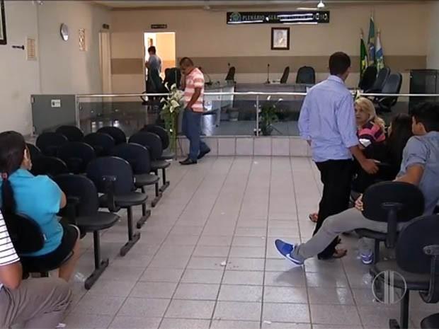 Câmara de Vereadores de Pureza afastou a prefeita em dezembro, mas ela recorreu à Justiça (Foto: Reprodução/Inter TV Cabugi)