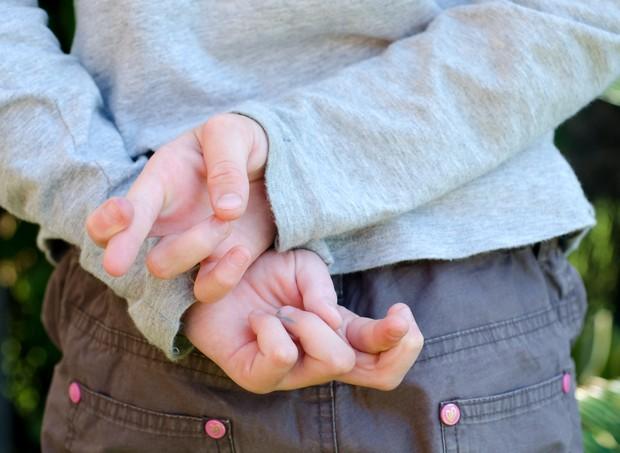 Criança mente?  (Foto: Thinkstock)
