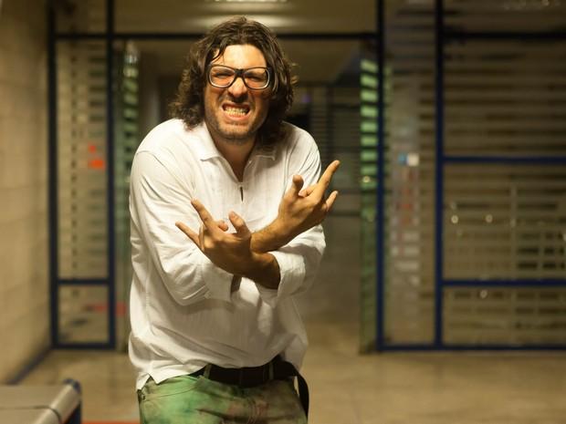 Ex-BBB Ilmar após ser eliminado do BBB 17 (Foto: Anderson Barros/ EGO)